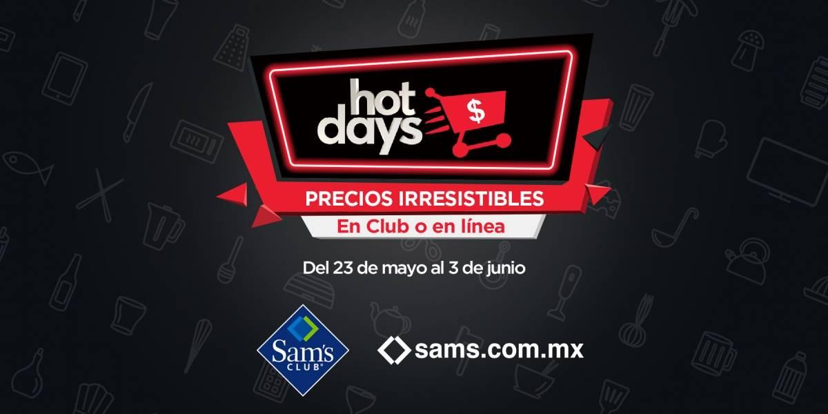 Promociones en Sam's Club inician por Hot Days