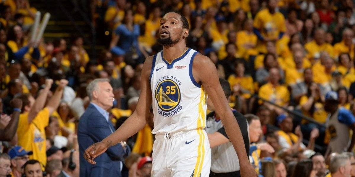 Golden State Warriors no contará con Kevin Durant en el inicio de las finales de la NBA