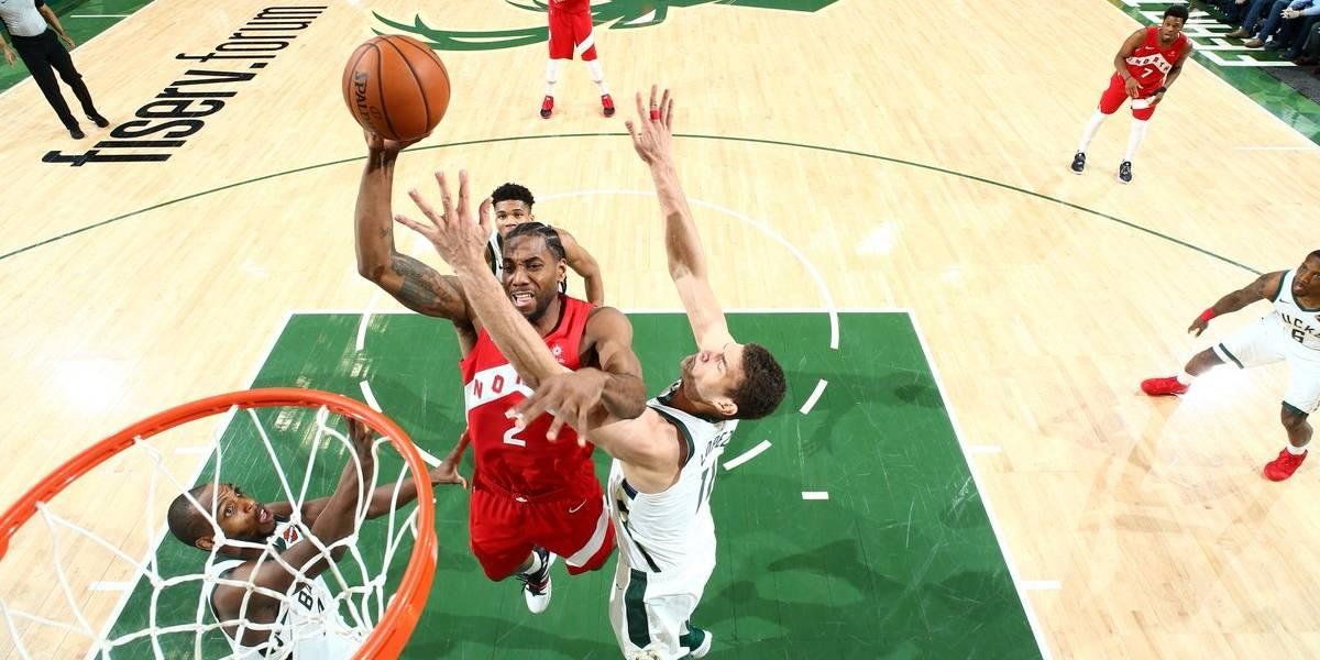 NBA: Kawhi Leonard impulsa a Toronto y lo deja a un paso de las finales tras vencer a Milwaukee