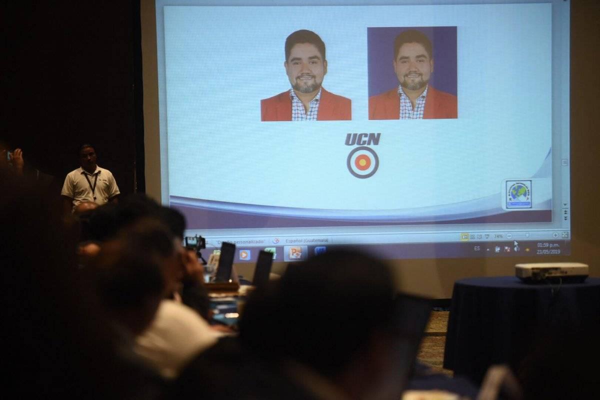 """Luis Alberto """"Beto"""" Valladares, del partido UCN. Foto: Edwin Bercián"""