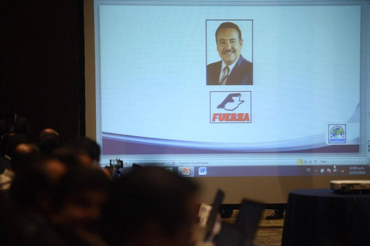 Luis García Stubss, del partido Fuerza. Foto: Edwin Bercián