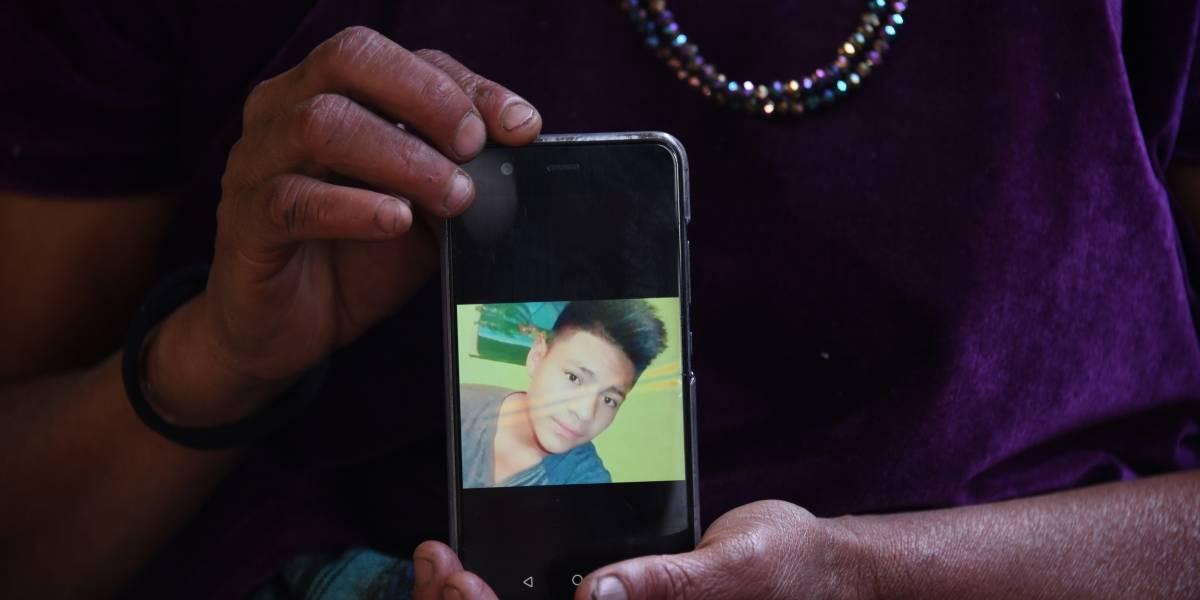 """""""Él tomó su decisión. Él dijo 'me voy'"""", relata madre de menor guatemalteco muerto en EE.UU."""