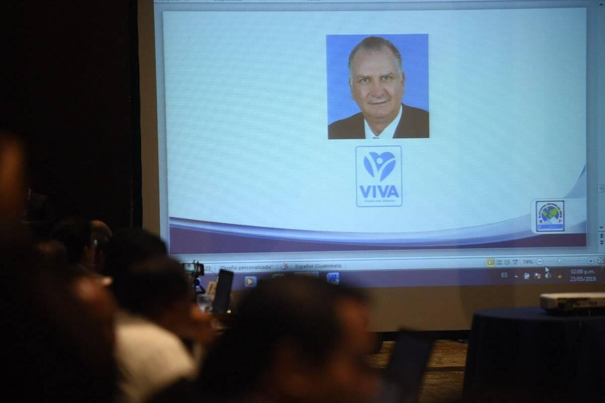 Moisés Abraham Fialko Castillo, de Viva. Foto: Edwin Bercián