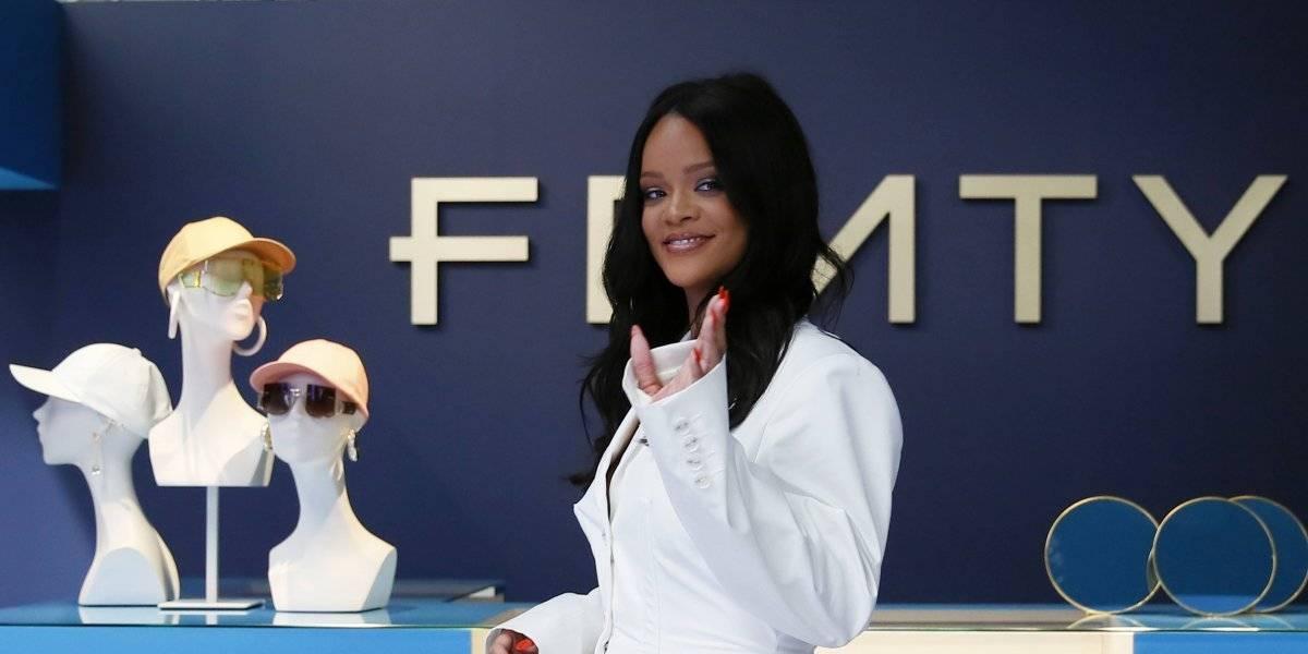 Rihanna hace historia al lanzar marca en París