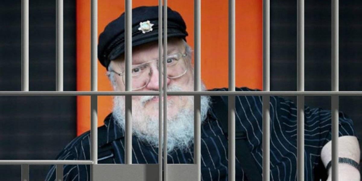 """George R.R. Martin irá a la cárcel si no termina el nuevo libro de """"Game of Thrones"""" para el 2020"""