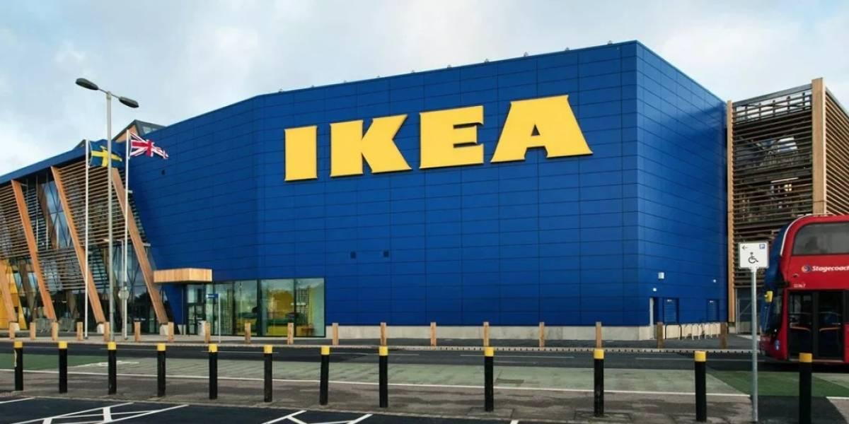 Soffa Sans: la tipografía de Ikea hecha con muebles