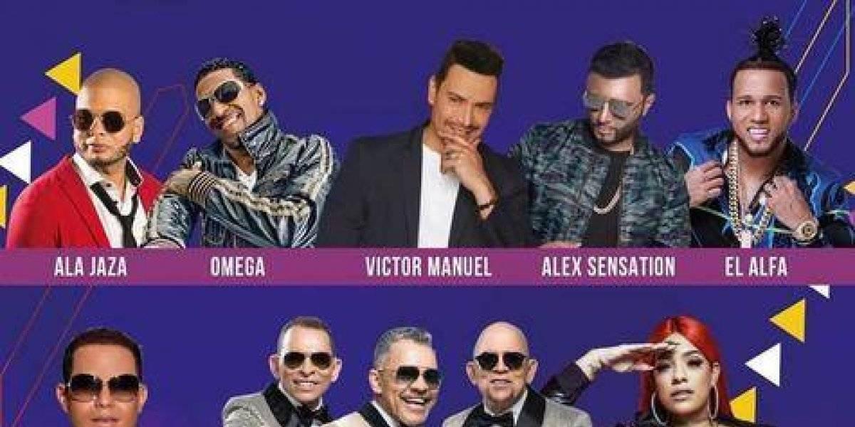 Latin Music Tours con cartelera urbana y tropical