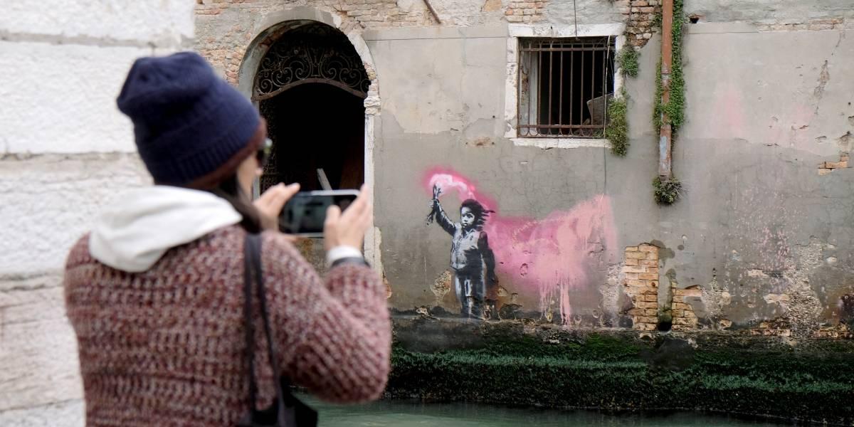 Banksy 'reivindica' autoria de mais uma obra em Veneza
