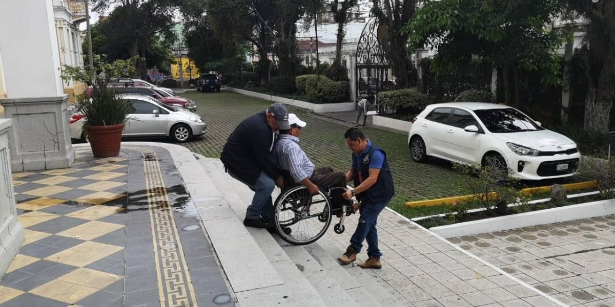 Conadi realiza simulacro de elecciones para personas con discapacidad