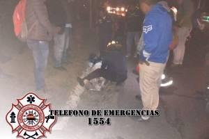 accidente en ruta a Parramos