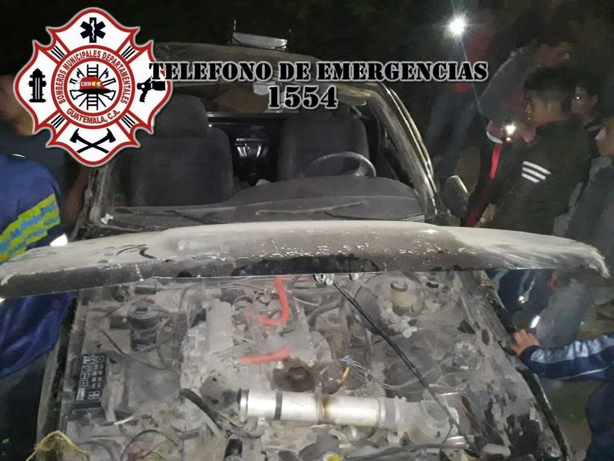 accidente en Km. 65 de ruta Interamericana