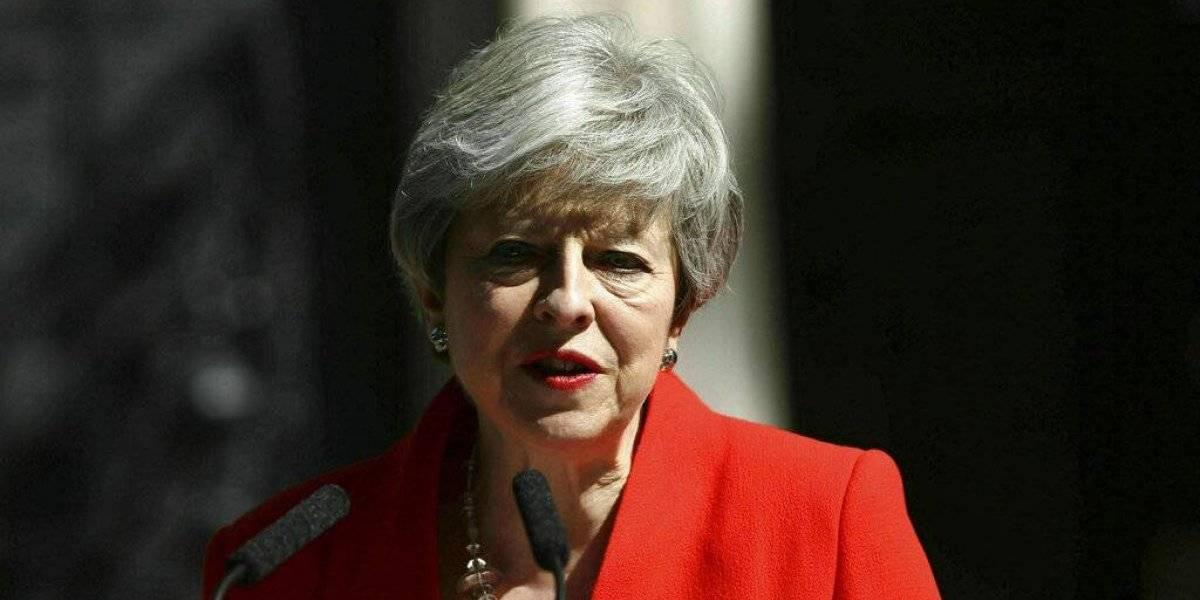 Theresa May dejará el liderazgo de Partido Conservador el 7 de junio