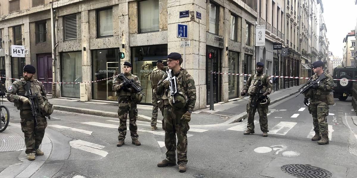 Ataque en Lyon: aumenta a 13 los heridos por explosión en Francia
