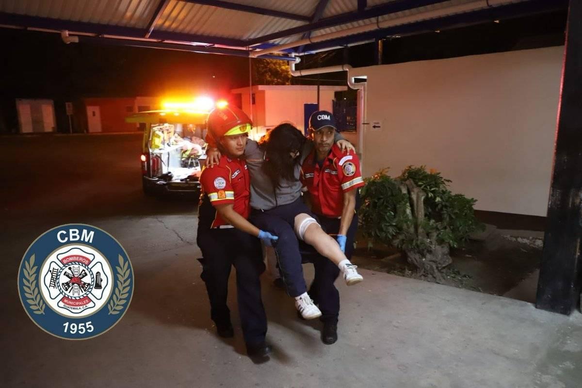 heridos por ataque armado en zona 4 de Mixco