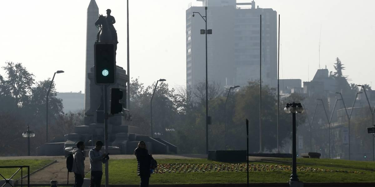 Sigue la alerta ambiental en la Región Metropolitana por mala calidad del aire