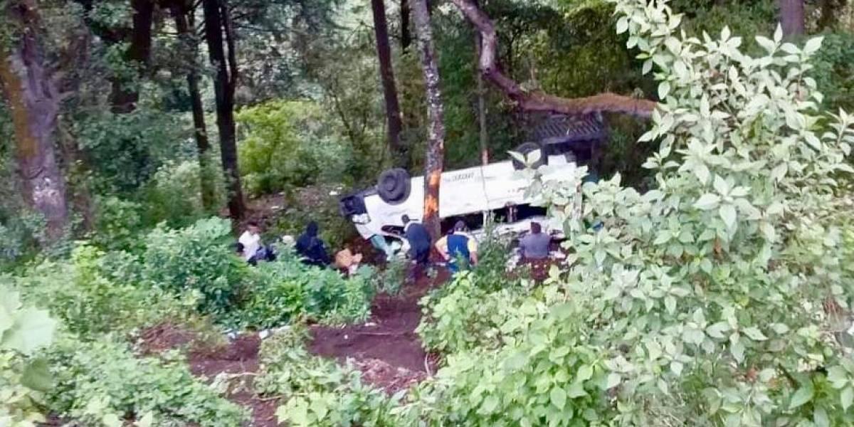 VIDEO: Un muerto y varios heridos deja accidente en ruta Interamericana