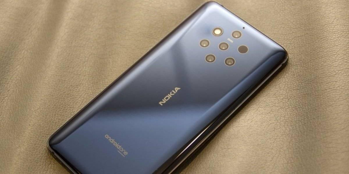 Así es el primer teléfono con 5 cámaras creado por Nokia