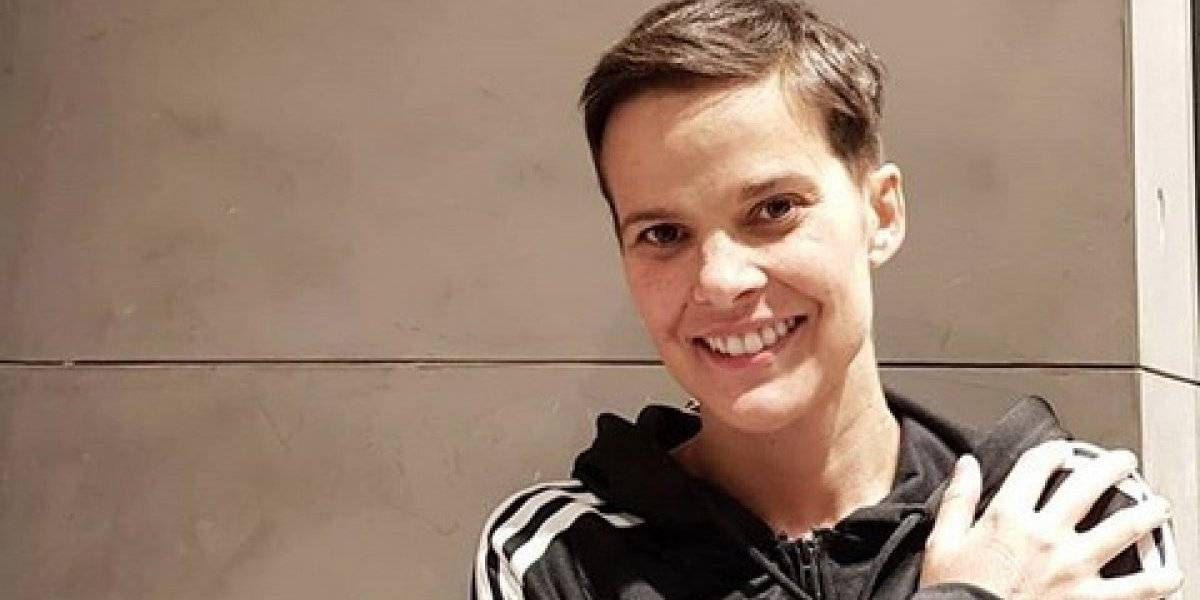 Javiera Suárez emociona al compartir foto de su antes y después en medio de su lucha contra el cáncer