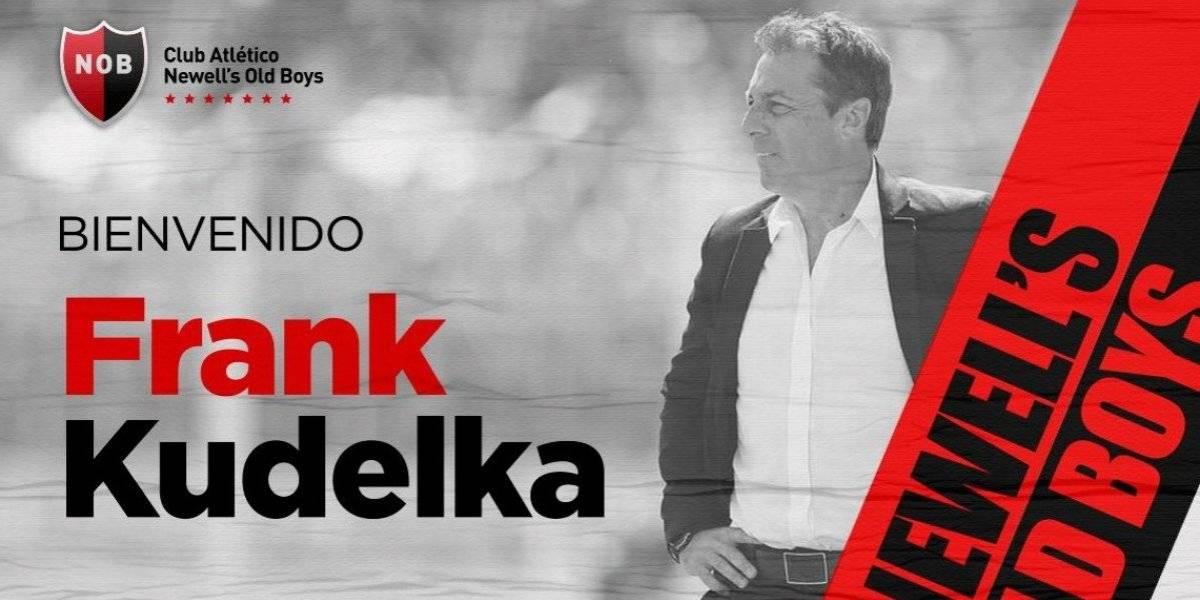 Frank Kudelka tiene una nueva oportunidad tras su amargo paso por la U y firmó en Newell's