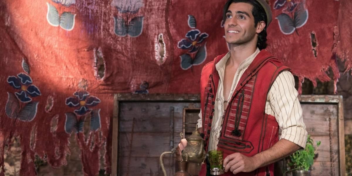 """Tuve que aprender mucho para interpretar a Aladdin"": Mena Massoud"