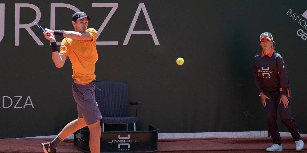 """El """"nuevo"""" Nico Jarry y su paso a la final en Ginebra: """"Pude ganarle a los nervios"""""""