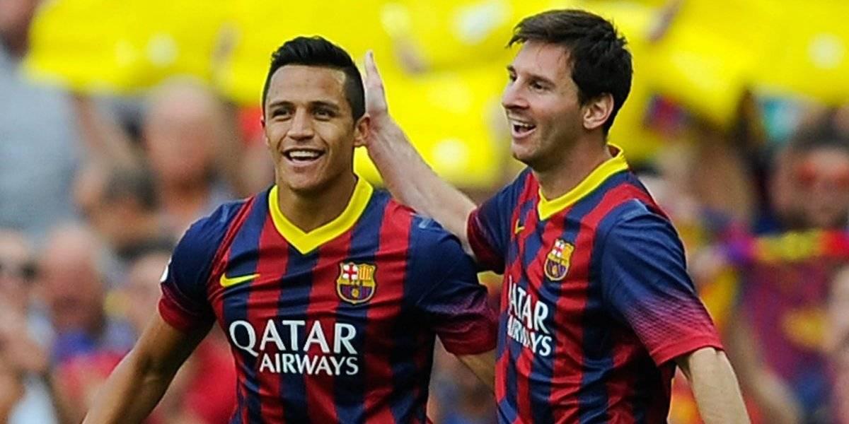 ¿Alexis Sánchez es un clon de Lionel Messi?