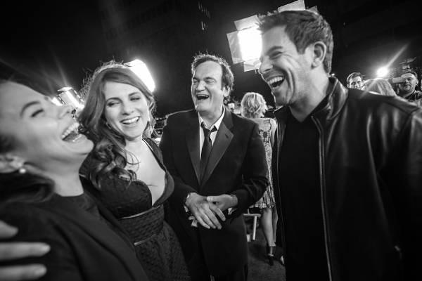 """Quentin Tarantino se rinde ante su musa chilena: """"Es grandiosa"""""""