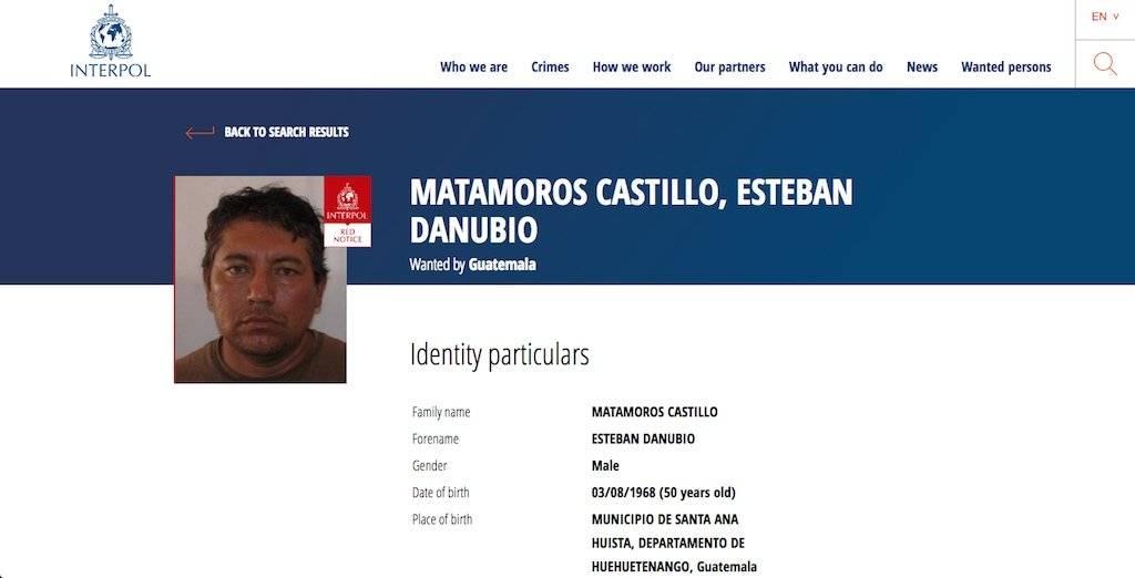 Luis Alejandro Orozco Vargas, buscado por la Interpol. Foto: Publinews