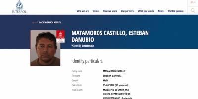Luis Alejandro Orozco Vargas, buscado por la Interpol.