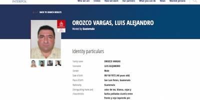 Esteban Danubio Matamoros Castillo, buscado por la Interpol.
