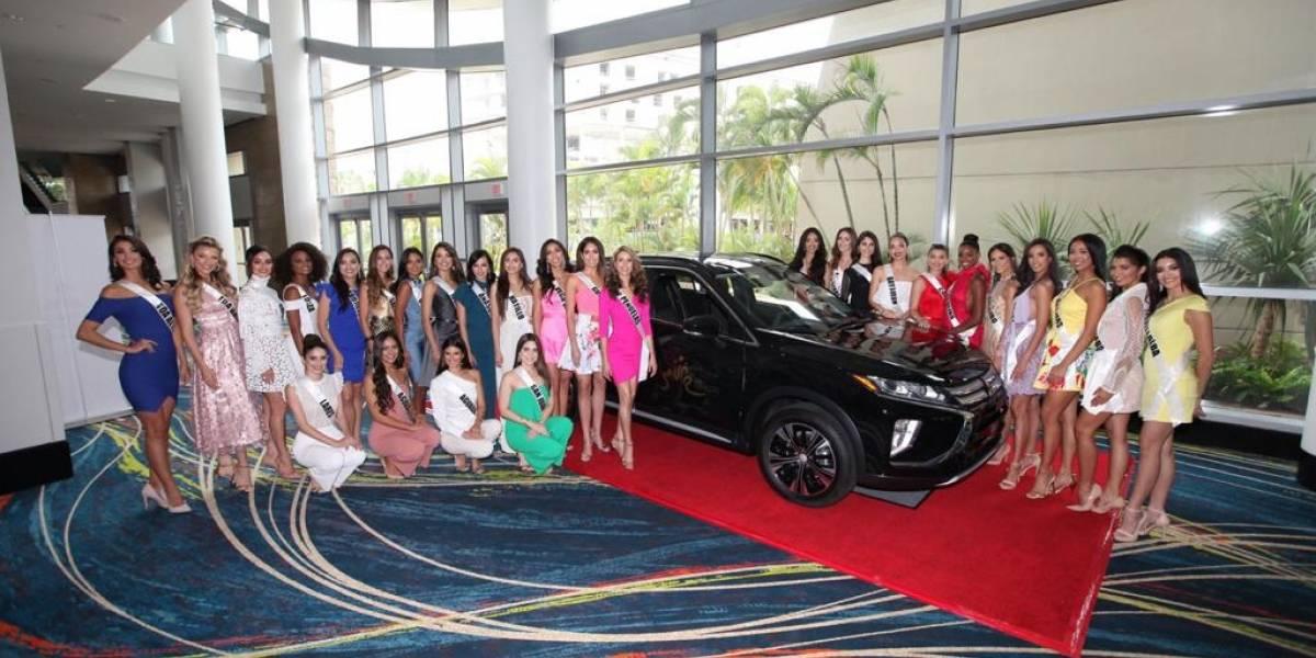 Mitsubishi es el vehículo oficial de Miss Universe Puerto Rico