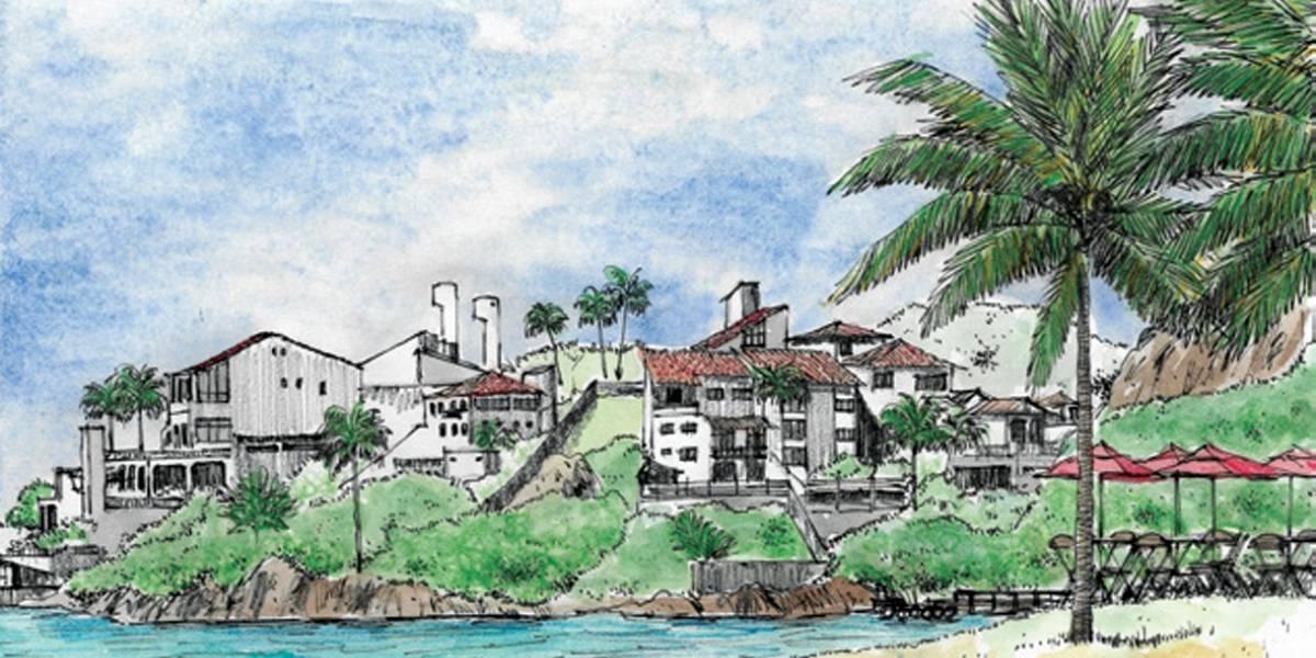 Artistas ilustram 12 pontos turísticos de Vitória em cartões-postais