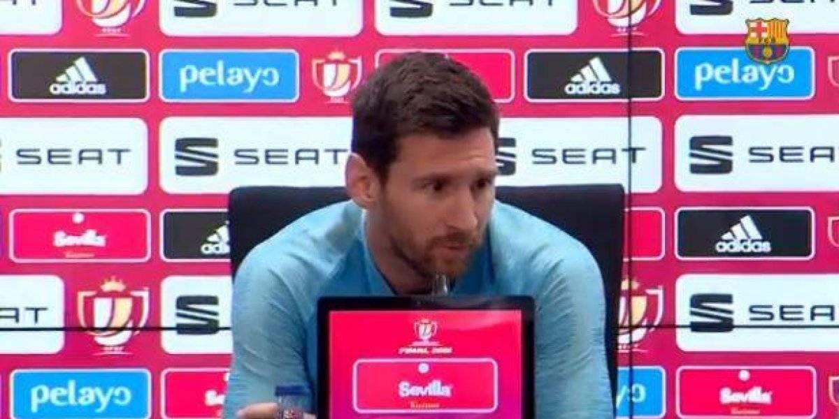 Esta fue la explicación de Messi por la eliminación en la Champions League