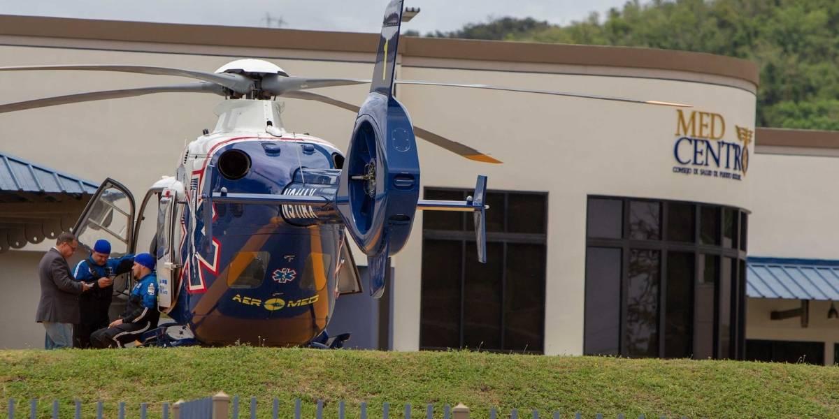 Inauguran helipuerto en Med Centro en Peñuelas