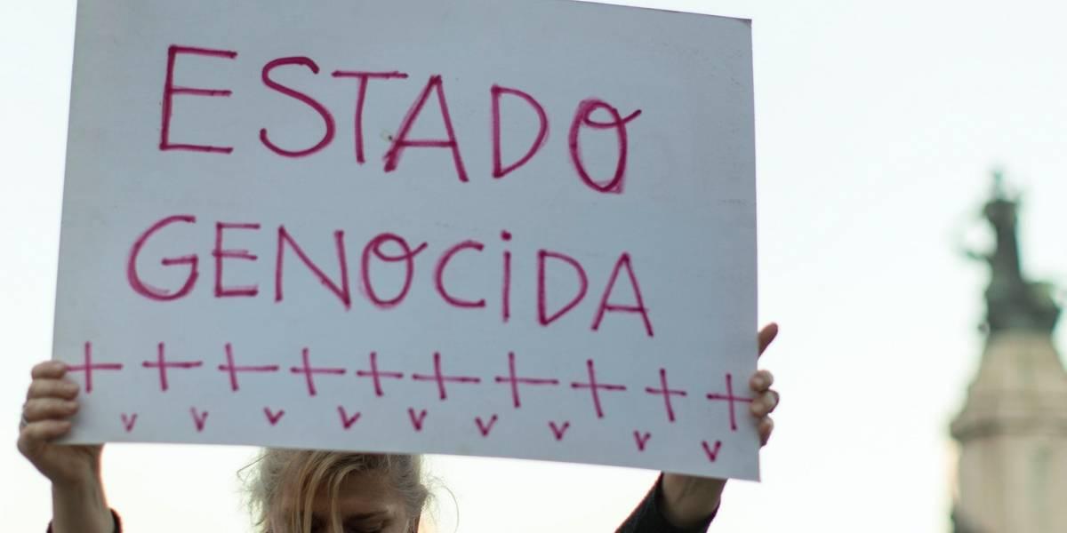 Cientos marchan en Buenos Aires contra violencia policial