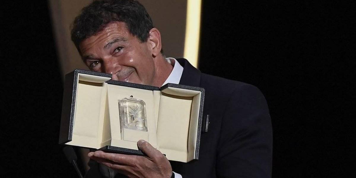 Antonio Banderas premiado en Cannes, como alter ego de Almodóvar