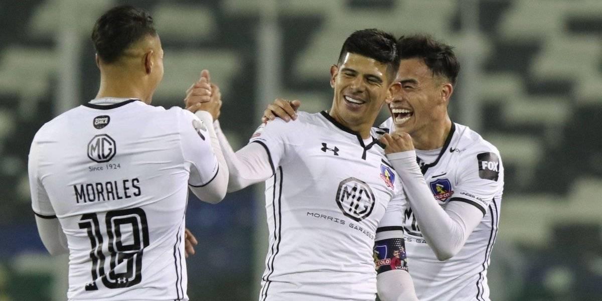 Colo Colo revivió su mejor versión de 2019 para golear a Audax Italiano