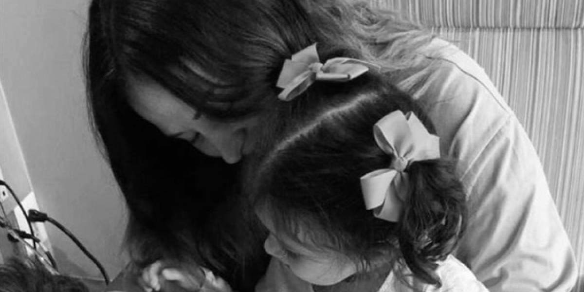 Zuria Vega comparte la foto más tierna de Luka recién nacido
