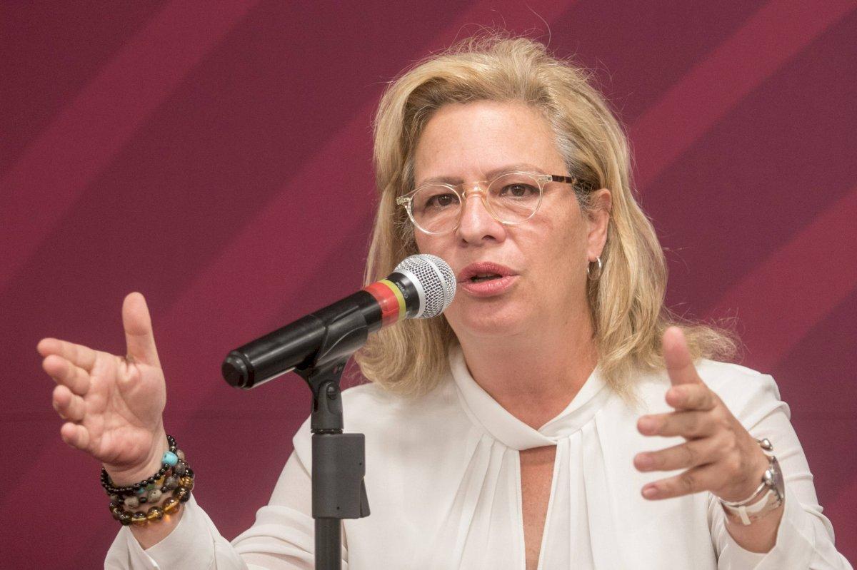 Josefa Gonzalez Blanco Ortiz Mena, primer secretaria de Estado en renunciar