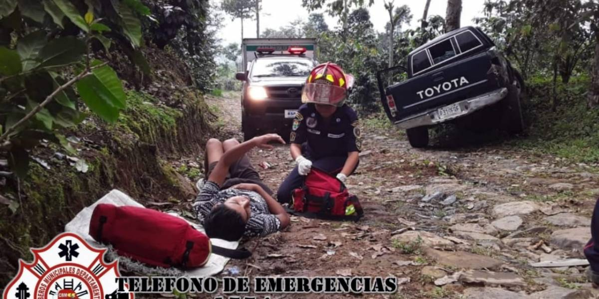 Accidente de tránsito deja siete heridos en San Pablo, San Marcos