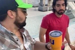 VIDEO: Aficionado de Tigres provoca a Rodolfo Pizarro