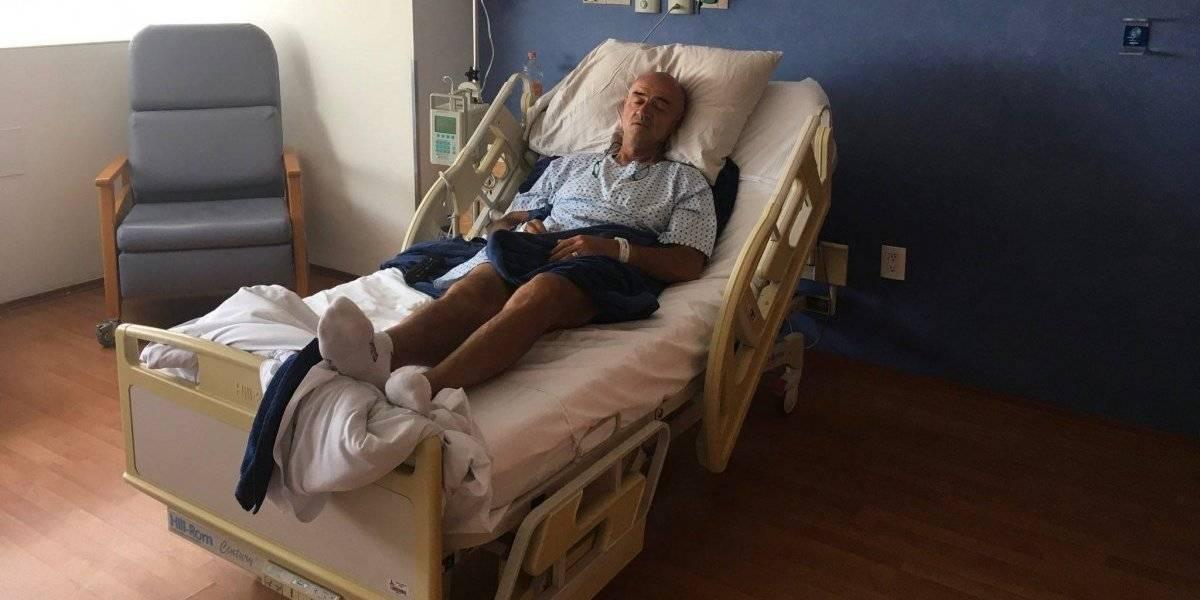 'Chelís' comparte que está hospitalizado y que su