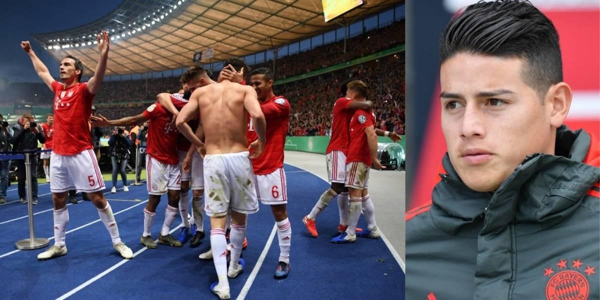 Bayern Múnich, logra doblete en Alemania