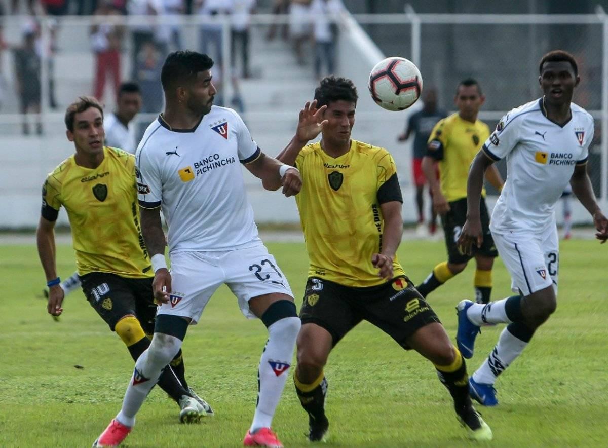 Liga de Quito vs Fuerza Amarilla API