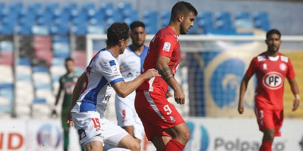 Antofagasta entra a la zona de descenso tras igualar como local con Unión La Calera