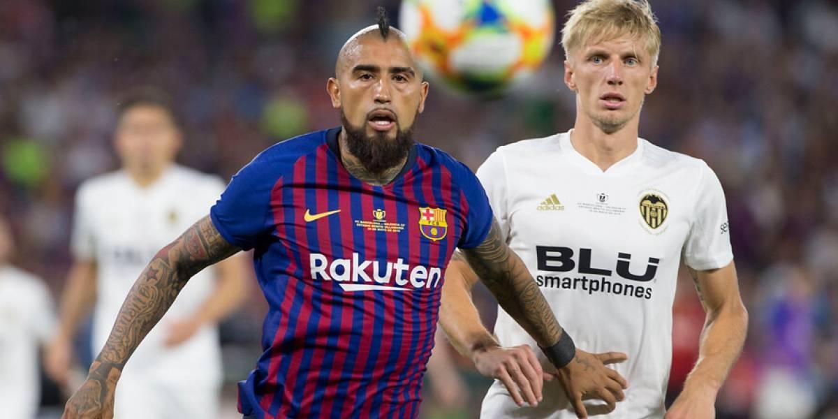 Valencia dio el batacazo ante el Barcelona de Vidal y conquistó la Copa del Rey