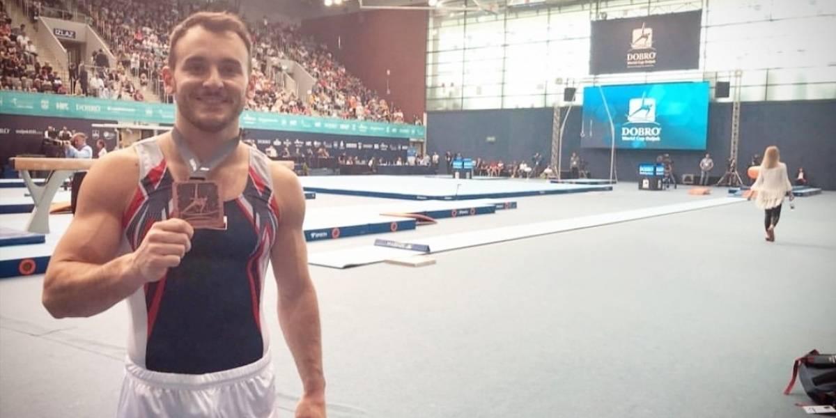 Tomás González logra bronce en suelo en el World Challenge de Croacia y mira de reojo a Lima 2019