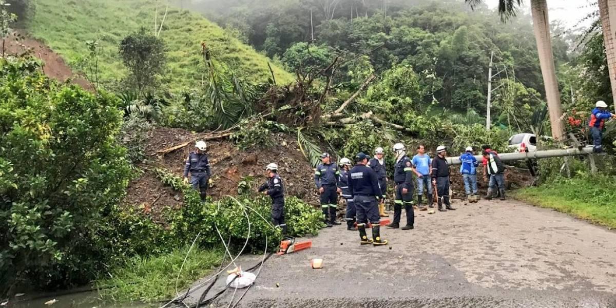 Imágenes del trágico derrumbe en La Palma (Cundinamarca)