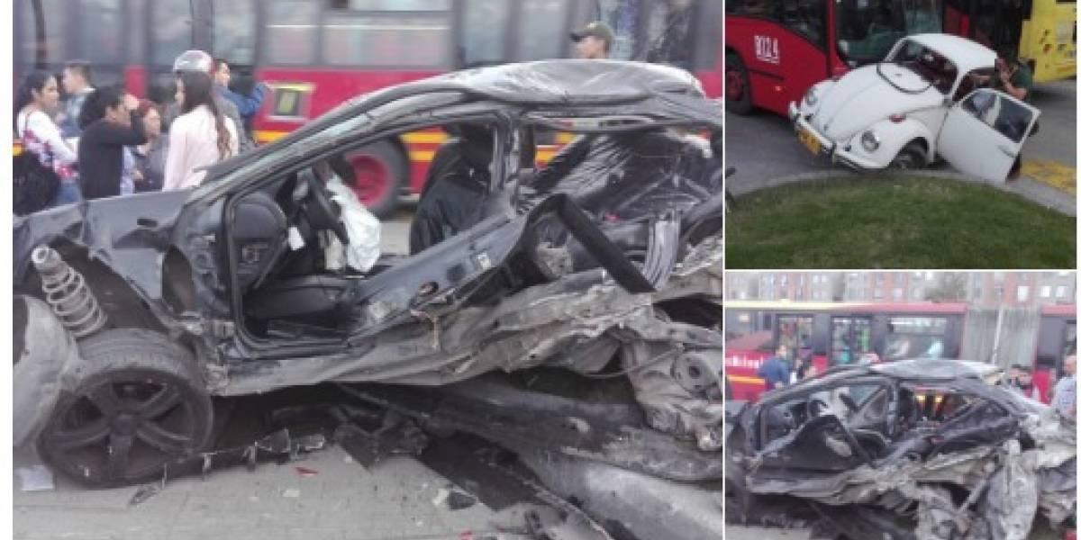 El testimonio de conductor al que arrolló TransMilenio en la Autopista Sur