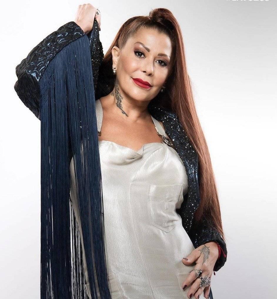 Alejandra Guzmán mostró que no está pasando por buenos momentos Telemundo La Voz